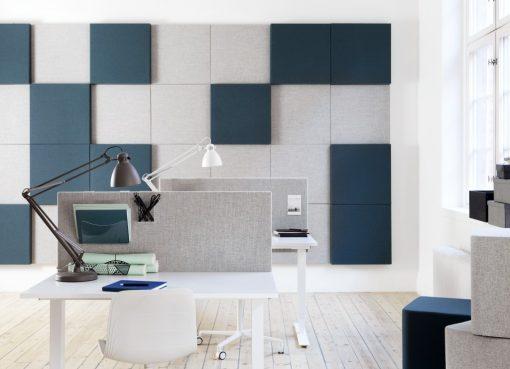 Soneo Bord installation i öppet kontor