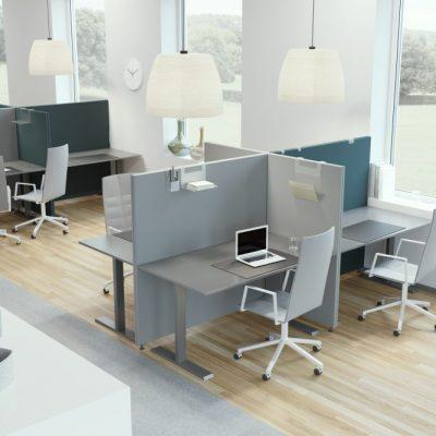 Installationsbild Soneo 50 Golv för den goda ljudmiljön på kontoret