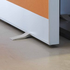 Ljuddämpande Golvskärmar skapar bra ljudmiljö på kontor