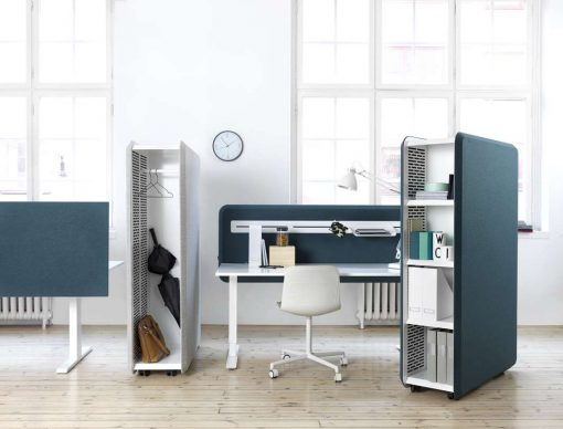 Domo Storage installation i kontor