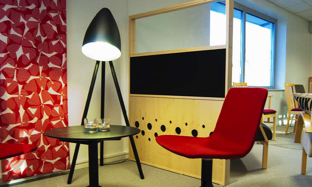Snygga Dotz Skärmväggar för ett bra ljudklimat på kontoret.