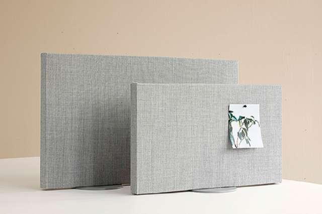 Bordsskärm att placera ovanpå förvaringsskåp eller skrivbord - Zilenzio Dezibel Flex