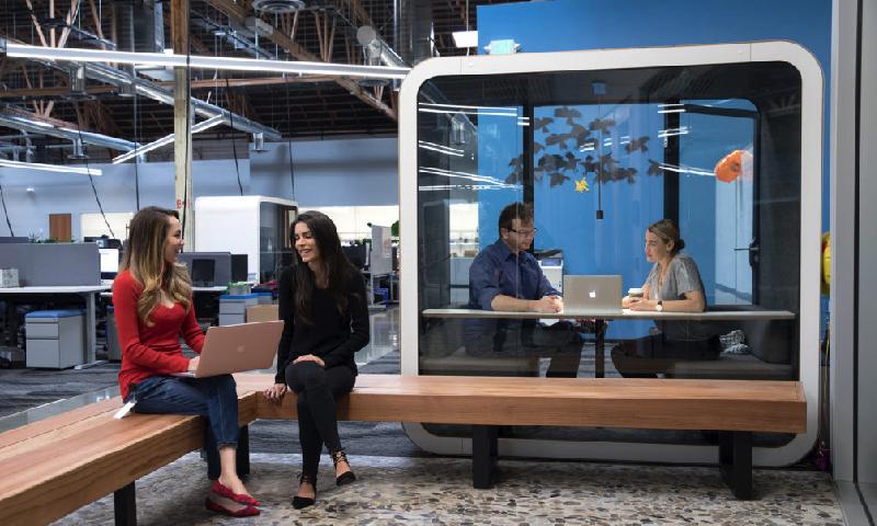 Framery telefonhytter och mötesrumsmoduler för 2 och 4 personer