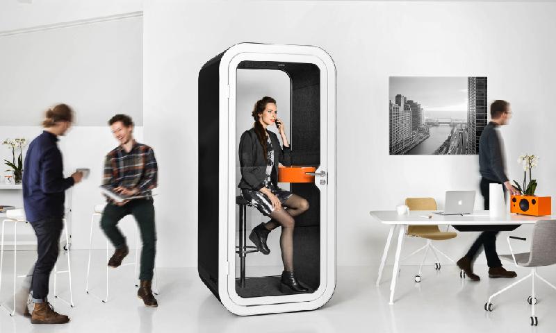 Framery telefonhytt till kontor