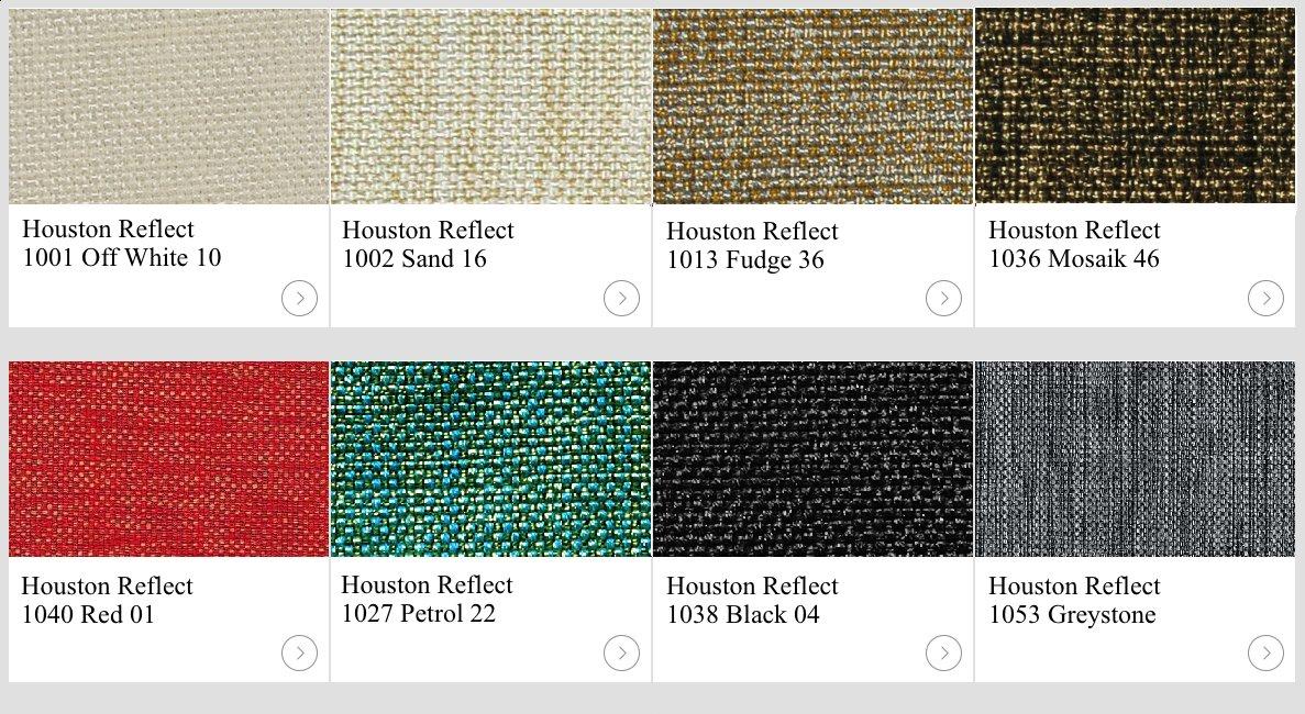 Textil Houston kulörexempel.