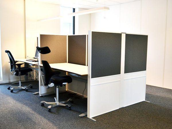 Offizz trä/tyg i kontorsmiljö