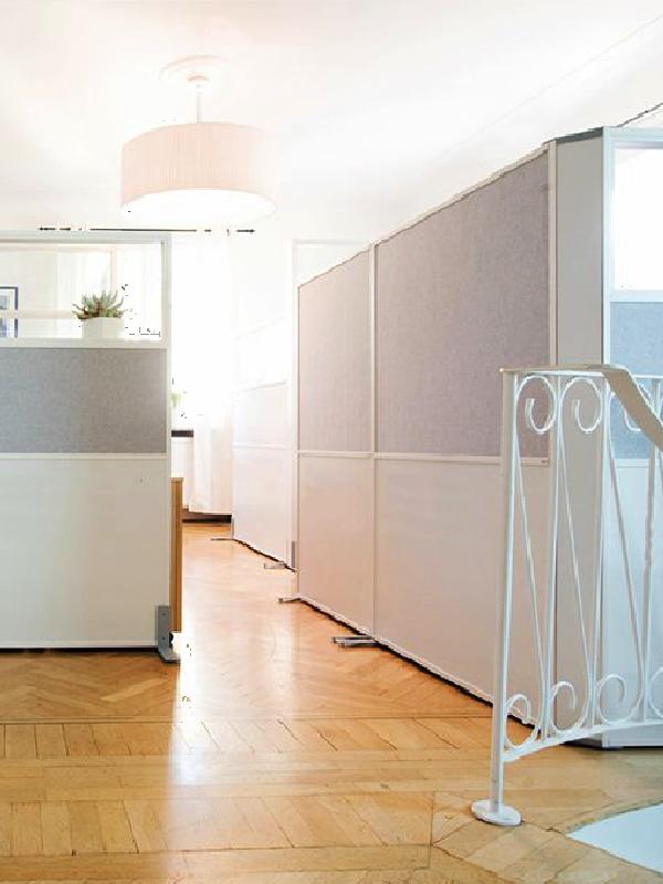 Zilenzio Offizz golvskärmar i kontor