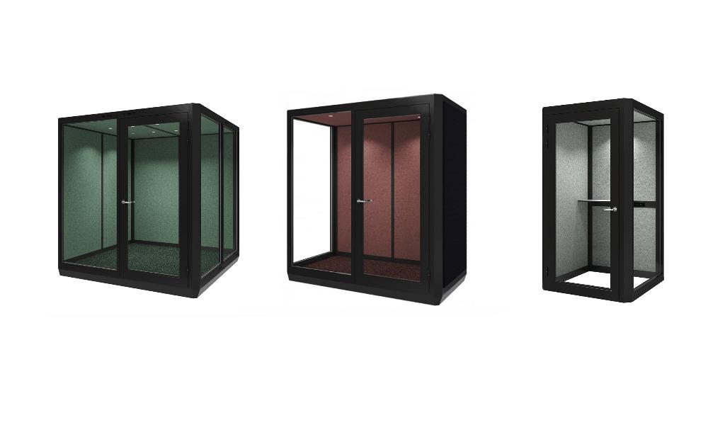 Plenty Pod Telefonhytter för kontor i tre storlekar