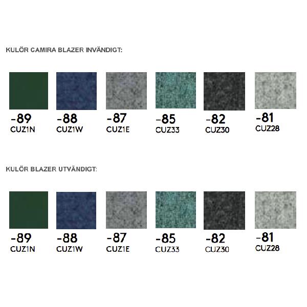 Textil till Plenty Pod telefonhytter