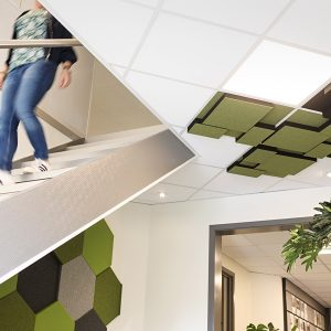 Nivå Tak ljudabsorbenter för tak