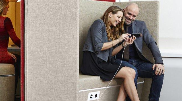 Sofa Sound Booth - en snygg möteshörna med goda ljudabsorberande egenskaper