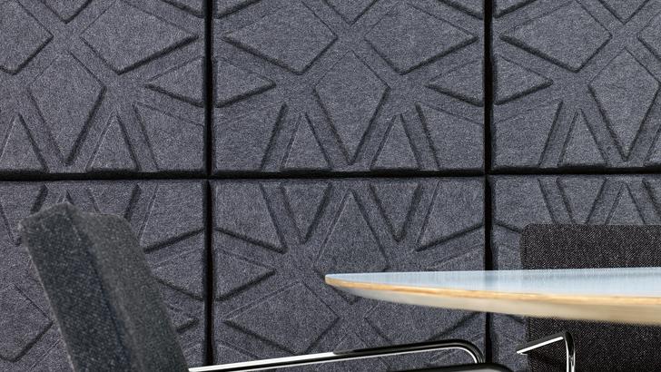 Installationsbild av Soundwave Geo Anthracite