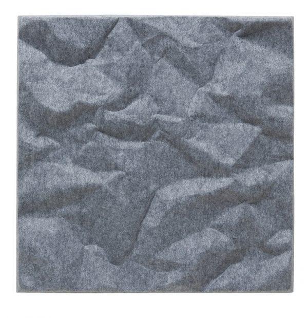 Produktbild av ljudabsorbenten Soundwave Scrunch Grey