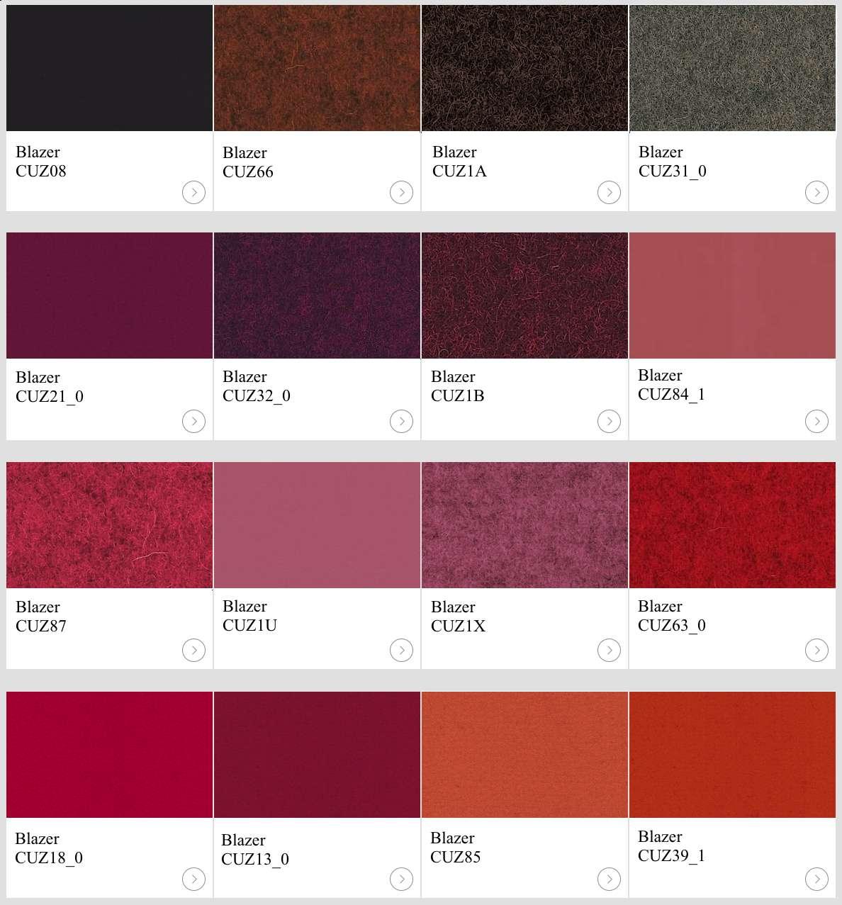 Textil Blazer I kulörer till skärmväggar