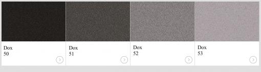 Textil Dox kulörer till skärmväggar