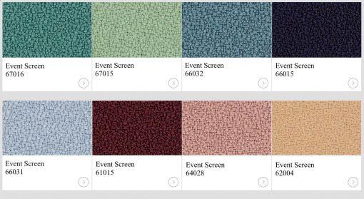 Textil Event Screen Other Colour kulörer till skärmväggar