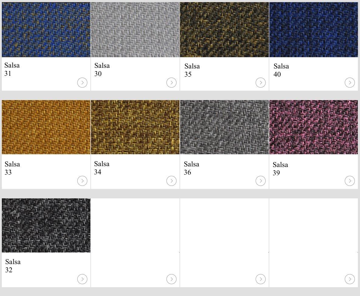 Textil Salsa kulörer till skärmväggar
