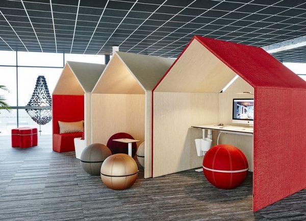 """The Hut ger möjligheter till fina """"arbetsstationer"""""""