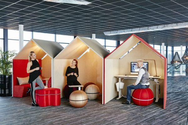 The Hut skapar möjligheter i stora kontorslandskap