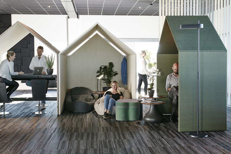 The Hut - Enkla sättet att smycka lobbyn