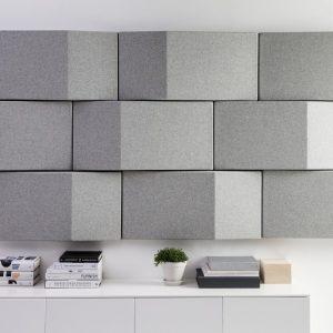 Triline Wall akustikpanel placerad på vägg