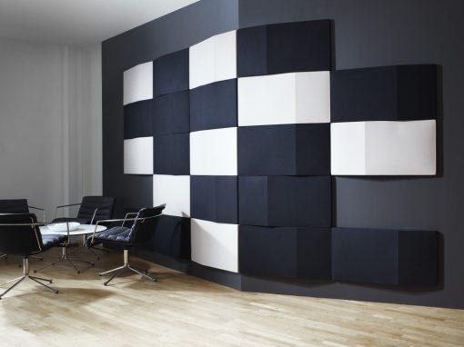 Triline Wall produktinstallation på kontor